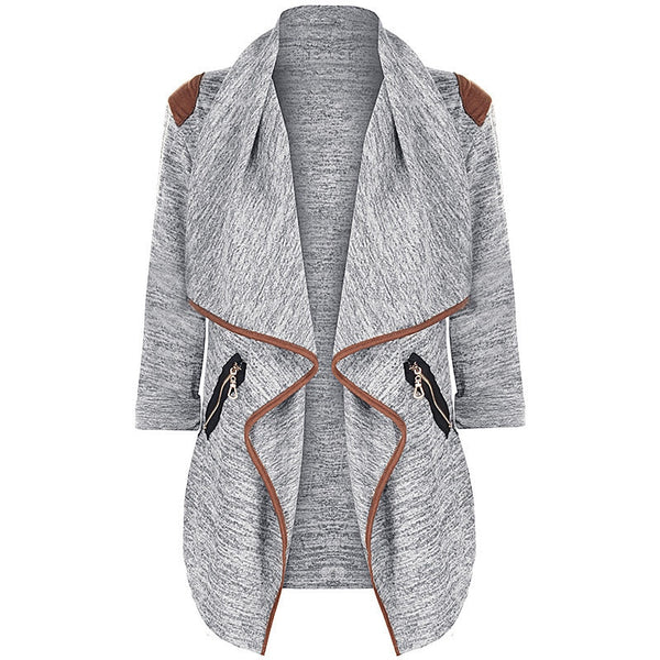 CELMIA Fashion Women Jacket Coat Autumn Winter Long Sleeve Pockets Cardigan Plus Size Female Casual Outwear