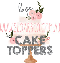 Cake Toppers Sugar Boo Cake Toppers cake topper wedding cake toppers happy birthday cake toppers personalised cake toppers melbourne personalised cake toppers australia cake toppers melbourne custom cake toppers australia cake toppers australia