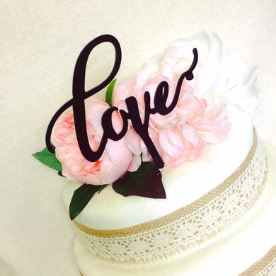 Love Cake Topper Baby Shower Wedding Cake Engagement Cake Topper Cake Decoration Cake Decorating Love Word Cake Topper Love Topper Love Cake