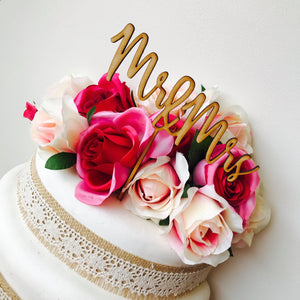 Wedding Cake Topper Mr & Mrs Wedding Cake Engagement Cake Topper Cake Decoration Cake Decorating SHL Sugar Boo Cake Toppers Cake Decoration