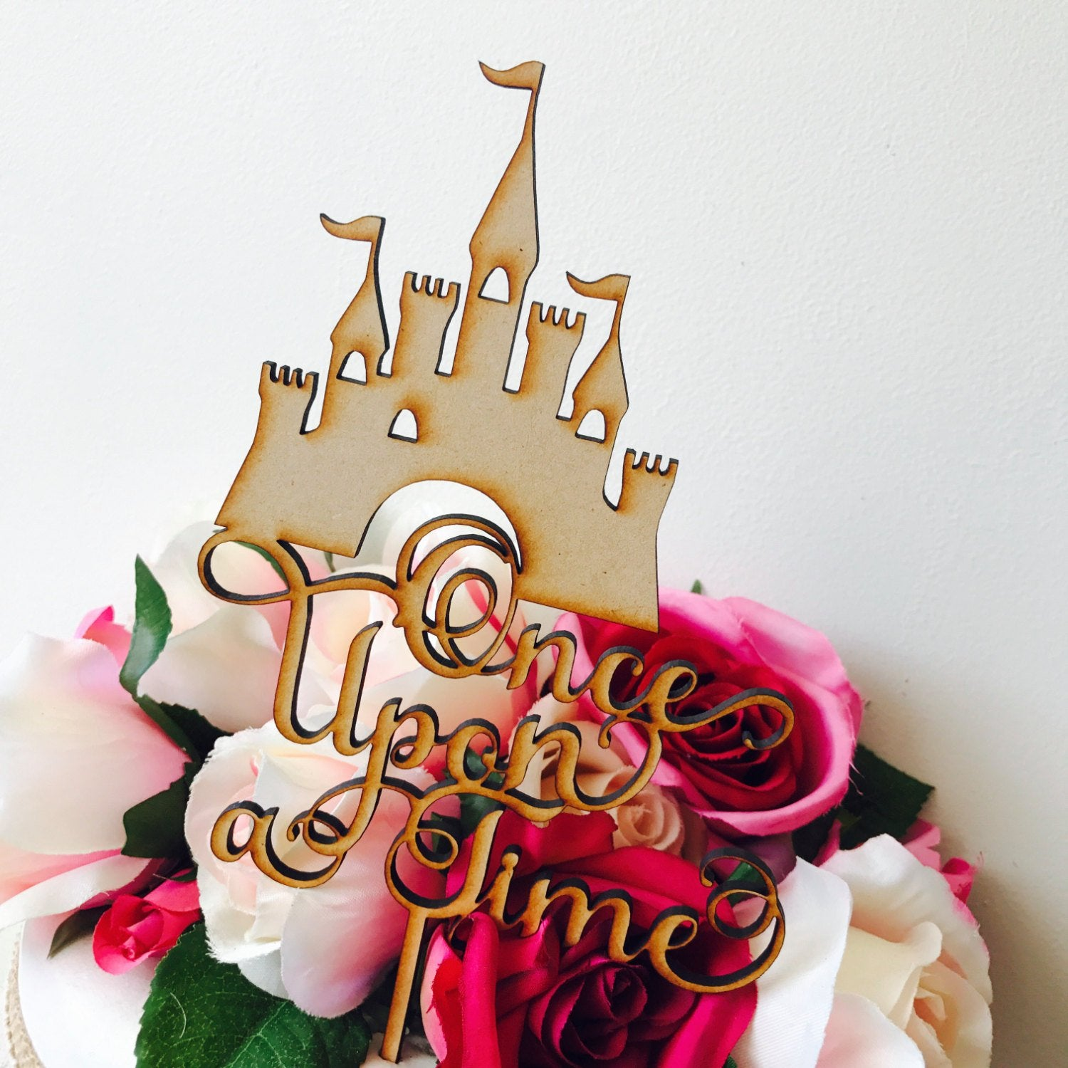 Once Upon A Time Cake Topper Decorations Cake Toppers Personalised Cak