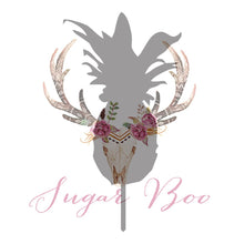 Pineapple Silhouette Cake Topper Cake Toppers Cake Decoration Cake Decorating Silhouette Cake Topper Sugar Boo PINEAS3 Sugar Boo SugarBoo
