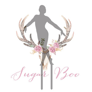 Gymnast Silhouette Cake Topper Cake Toppers Cake Decoration Cake Decorating Silhouette Cake Topper Sugar Boo GYMNS1 Sugar Boo Cake Toppers