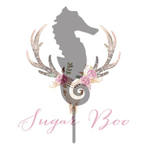 Seahorse Silhouette Cake Topper Cake Toppers Cake Decoration Cake Decorating Silhouette Cake Topper Sugar Boo SEAHS3 Sugar Boo Cake Toppers