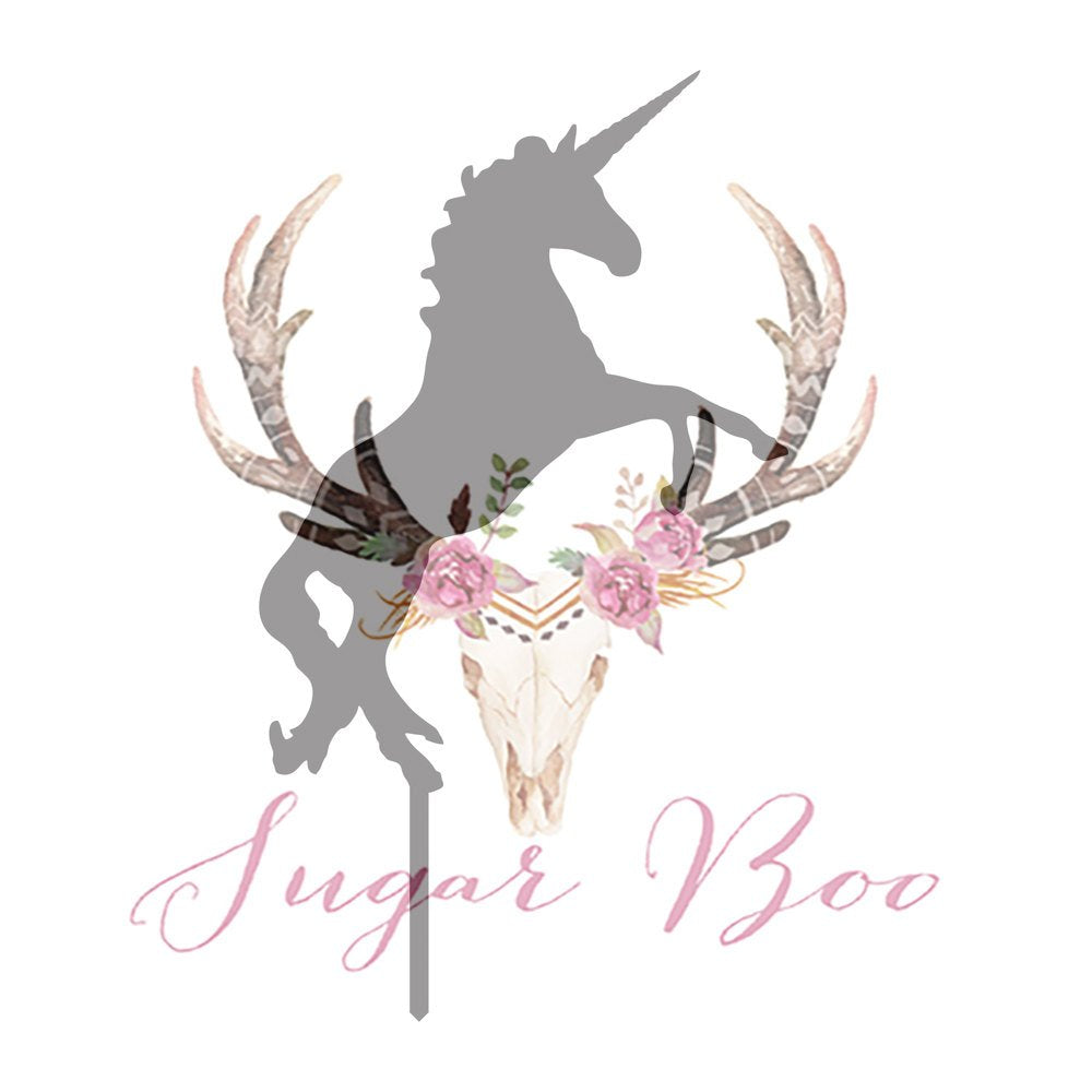 Unicorn Silhouette Cake Topper Cake Toppers Cake Decoration Cake Decorating Silhouette Cake Topper Sugar Boo Unics1 Sugar Boo Cake Toppers