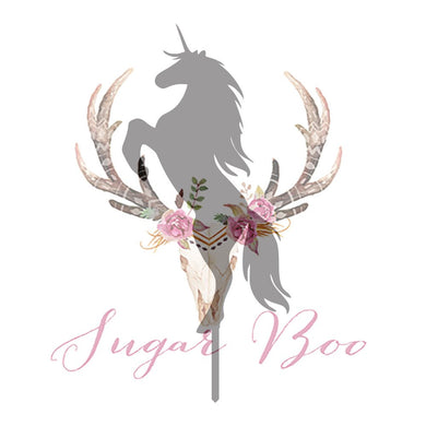 Unicorn Silhouette Cake Topper Cake Toppers Cake Decoration Cake Decorating Silhouette Cake Topper Sugar Boo UNICS2 Sugar Boo Cake Toppers