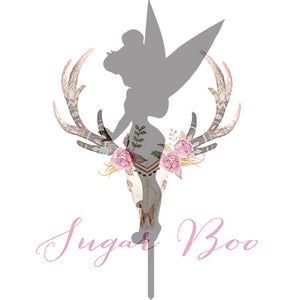 Tinkerbell Silhouette Cake Topper Cake Toppers Cake Decoration Cake Decorating Silhouette Cake Topper Sugar Boo TINKBS2 Sugar Boo SugarBoo