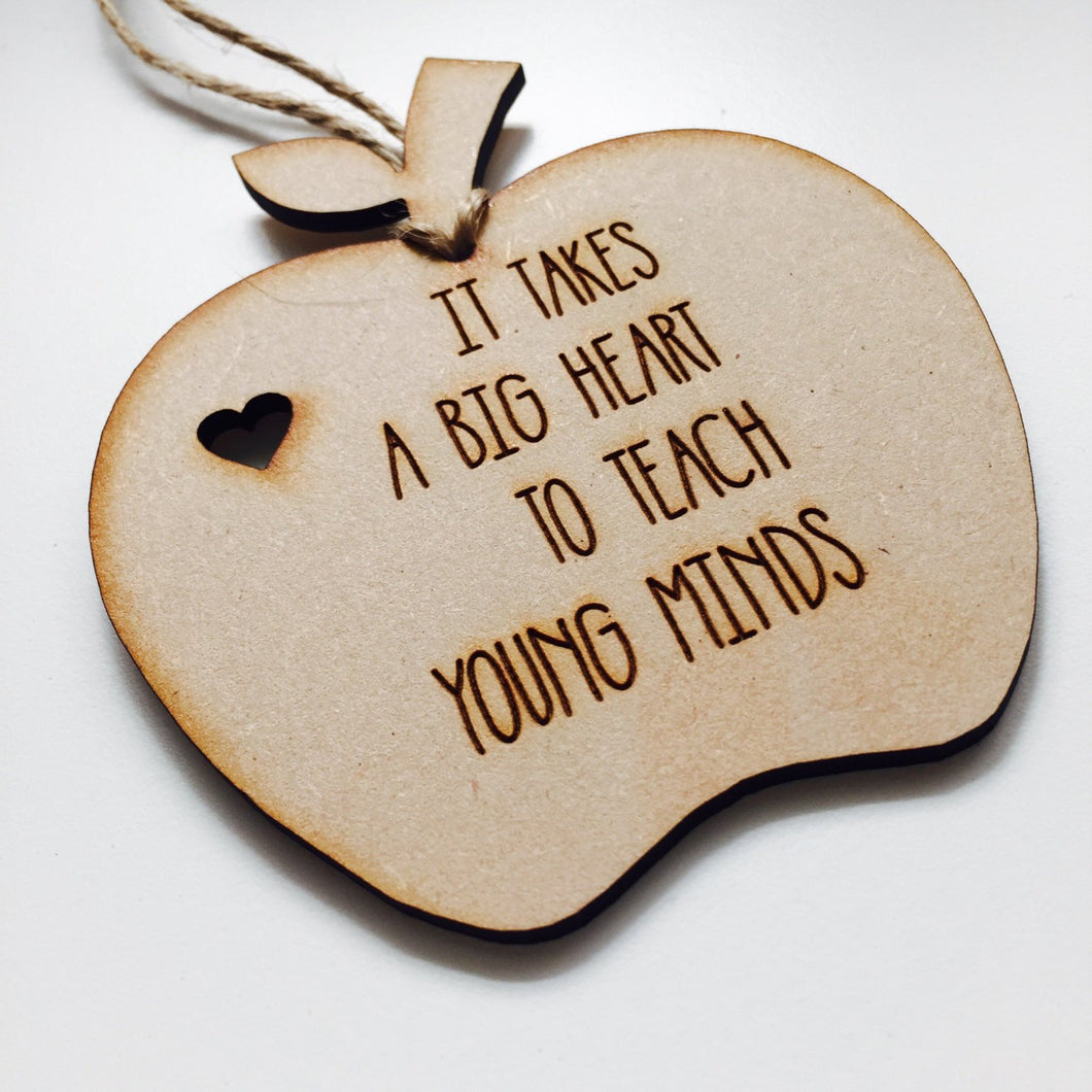 Personalised Ornament Apple Teacher Gift Bauble Personalized Christmas Gift Hanging Bauble Gifts for teachers AP3