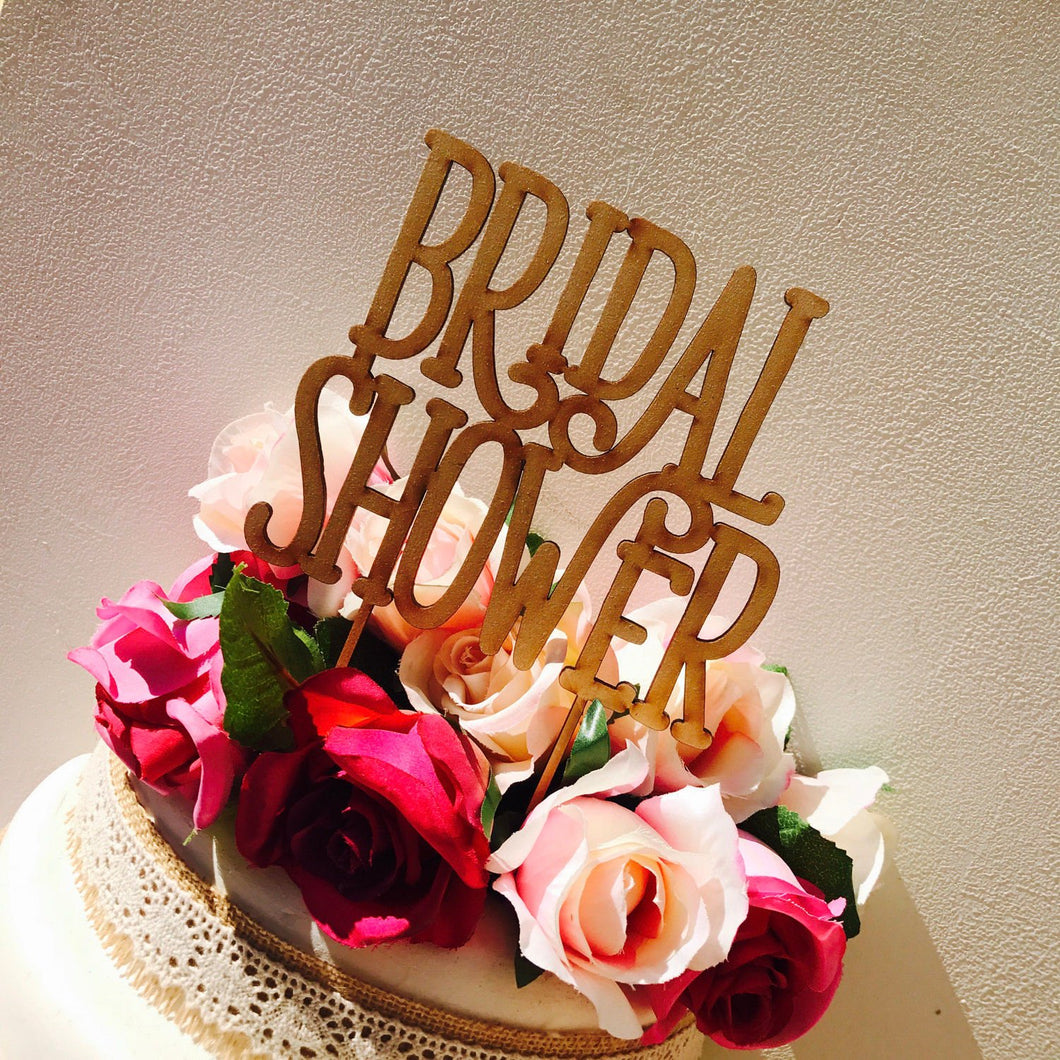 Bridal Shower - Cake Toppers