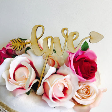 Love Arrow Cake Topper Baby Shower Wedding Cake Engagement Cake Topper Cake Decoration Cake Decorating Sugar Boo Cake Toppers SugarBoo