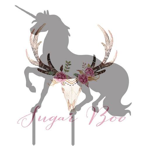 Unicorn Silhouette Cake Topper Cake Toppers Cake Decoration Cake Decorating Silhouette Cake Topper Sugar Boo UNICS3 Sugar Boo Cake Toppers