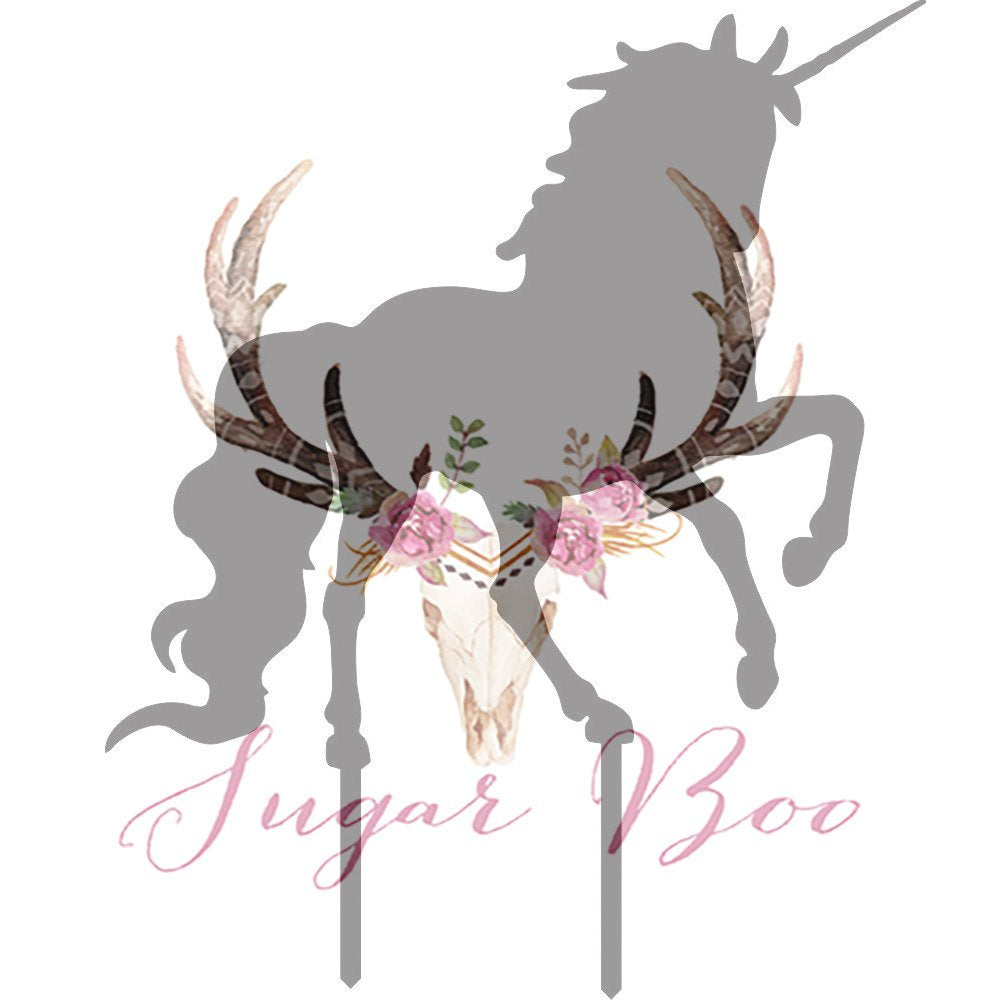 Unicorn Silhouette Cake Topper Cake Toppers Cake Decoration Cake Decorating Silhouette Cake Topper Sugar Boo UNICS4 Sugar Boo Cake Toppers