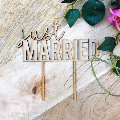 Just Married Wedding Cake Topper Wedding Cake Wedding Cake Toppers Cake Decoration Cake Decorating Just Married Cake Topper