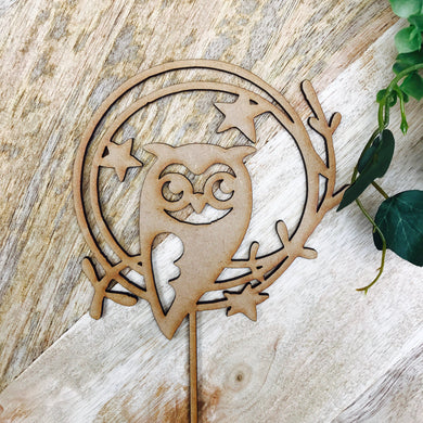 Owl Cake Topper Cake Topper Cake Decoration Cake Decorating Cake Toppers Toppers Baby Shower Cakes Birthday Cakes Owl Decor Sugar Boo