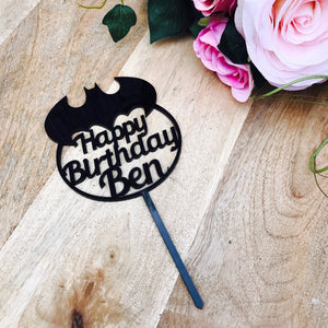 Custom Birthday - Cake Toppers