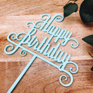 Happy Birthday Cake Topper Birthday Cake Topper Cake Decoration Cake Decorating Sugar Boo Cake Toppers Cake Decoration Sugarboo