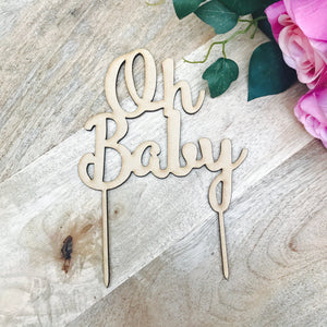Oh Baby Cake Topper Cake Decoration Baby Shower Cake Topper Shower Cake Decoration Baby Shower Topper Oh Baby Cake Shower Cake Oh Baby4