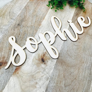 40cm Wide Wall Sign Hanging Plaque Timber Name Plaque Bedroom Decor Nursery Decor Personalised Gift Names Large Wall Hanging SPMG