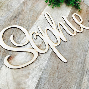 40cm Wide Wall Sign Hanging Plaque Timber Name Plaque Bedroom Decor Nursery Decor Personalised Gift Names Large Wall Hanging SWT