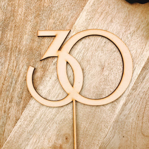 Thirty Cake Topper 30th Birthday Cake Topper Cake Decoration Cake Decorating Birthday Cakes Thirty Sugar Boo Cake Toppers Cake Decoration RS