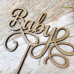 Baby - Cake Toppers