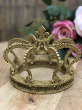 Gold Glitter Crown Cake Topper Timber Handmade Wedding Cake Top Princess Party Cake Topper Cake Decoration Princess Crown Princess Party