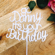 It's your Birthday Cake Topper Cake Decoration Cake Decorating Birthday Cake Toppers Go Shorty Sugar Boo Cake Toppers SugarBoo Personalised