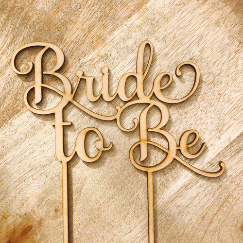Bride To Be Cake Topper Bridal Shower Cake Kitchen Tea Cake Cake Topper Cake Decoration Cake Decorating Bride to be Topper #2 Sugar Boo
