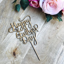 Happy Fathers Day Cake Topper Cake Topper Cake Decoration Boho Cake Decoration Rustic Cake Dads Day Fathers Day Topper Sugar Boo SugarBoo