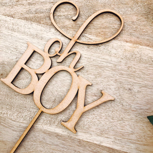 Oh Boy Cake Topper Cake Decoration Baby Shower Cake Topper Shower Cake Decoration Baby Shower Topper Oh Baby Cake Shower Cake Oh Boy SMTC