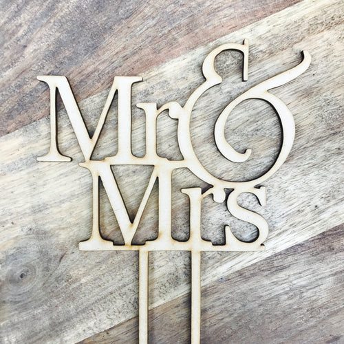 Wedding Cake Topper Mr & Mrs Wedding Cake Engagement Cake Topper Cake Decoration Cake Decorating Sugar Boo Cake Toppers Cake Decoration
