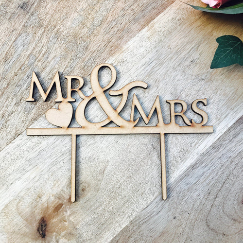 Mr & Mrs Wedding Cake Topper Wedding Cake Engagement Cake Topper Cake Decoration Cake Decorating Mr And Mrs Cake Topper Mr Mrs Hearts V3