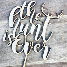 The Hunt Is Over Antler Cake Topper Cake Toppers Cake Decoration Cake Decorating Wedding Cake Topper Sugar Boo Custom Toppers Sugar Boo