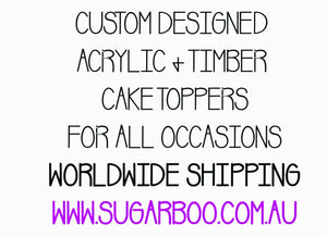 10cm 4 Number Cake Topper Number Cake Decoration Number Cake Toppers Birthday Cake Topper Cake Topper  Number Cake Topper 10cm #4 ARB