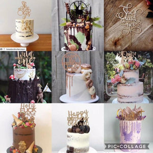Misc - Cake Toppers