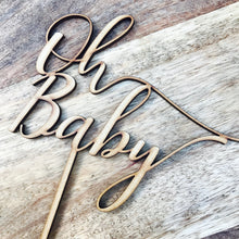 Oh Baby Cake Topper Cake Decoration Baby Shower Cake Topper Shower Cake Decoration Baby Shower Topper Oh Baby Cake Shower Cake Oh Baby FND