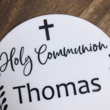 Holy Communion Cake Topper Personalised Cake Topper Cake Decoration Personalised Cake Toppers Christening Cake Topper Religious Cake Topper