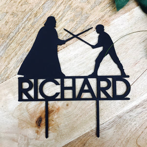 Star Wars Cake Topper Darth Vader Cake Topper Cake Decoration Cake Decorating Star Wars Silhouette Cake Decor Sugar Boo Cake Toppers
