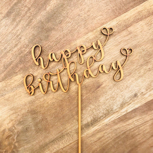 Happy Birthday Cake Topper Birthday Topper Cake Decoration Cake Decorating Cake Toppers Birthday Cake Topper SugarBoo SHA