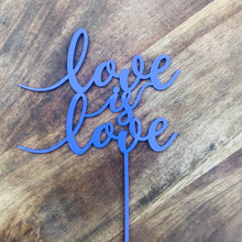 Love is Love Cake Topper Baby Shower Wedding Cake Engagement Cake Topper Cake Decoration Cake Decorating Sugar Boo Cake Toppers Same Sex