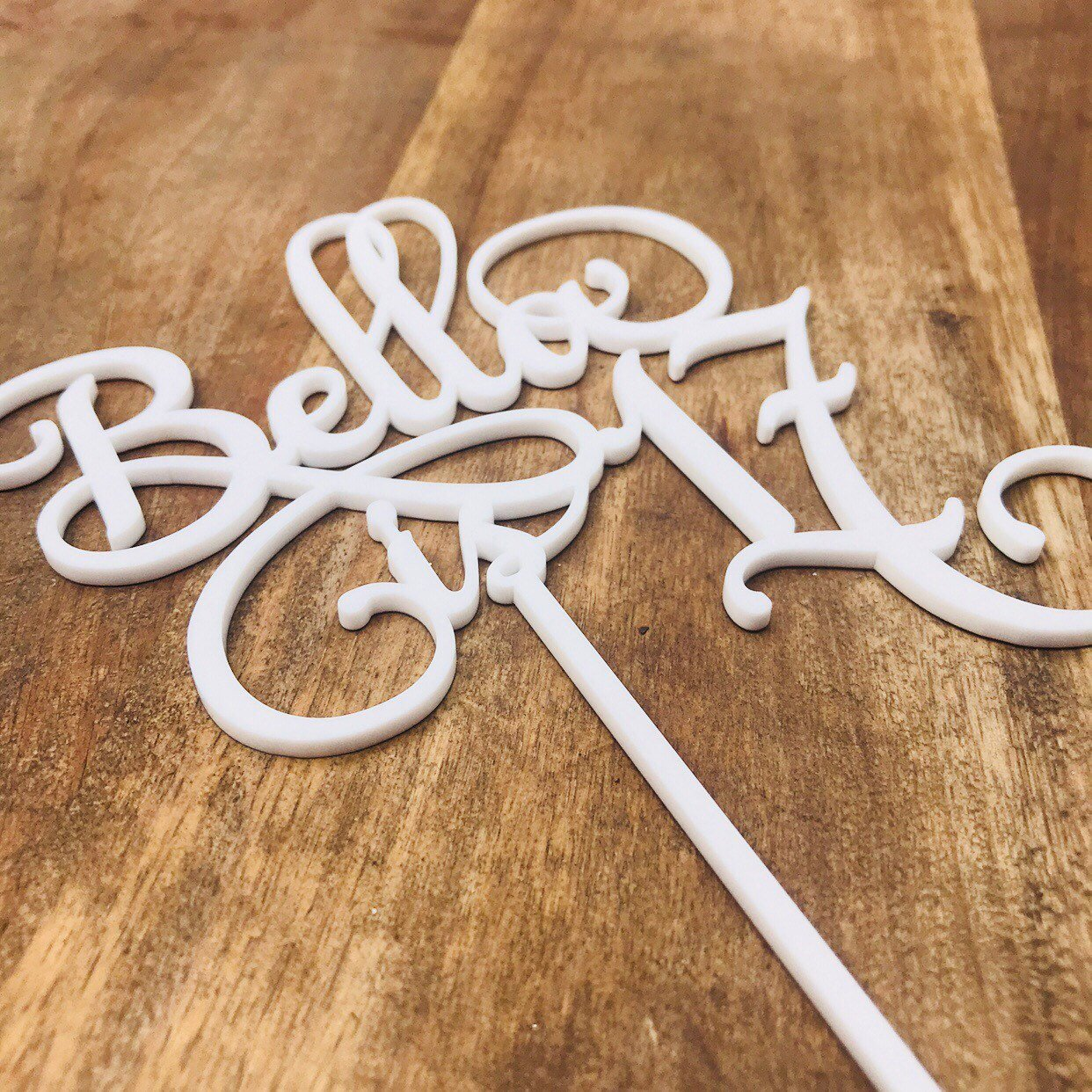 Personalised Is 17 Cake Topper Birthday Decoration Decorating Toppers