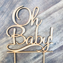 Oh Baby Cake Topper Cake Decoration Baby Shower Cake Topper Shower Cake Decoration Baby Shower Topper Oh Baby Cake Shower Cake Oh Baby1