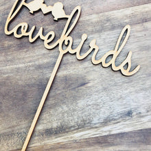 Lovebirds Wedding Cake Engagement Cake Topper Cake Decoration Cake Decorating Custom cake toppers personalised cake toppers love bird topper