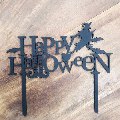 Happy Halloween Cake Topper Cake Decoration Cake Decorating  Personalised Cake Cake Decorating Ideas Halloween Cake Alternative Cake Topper