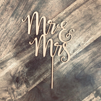 Download SVG File Cutting File Wedding Cake Topper Mr & Mrs Wedding Cake Engagement Cake Topper Cake Decoration Cake Decorating LVRA