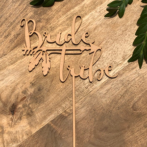 Bride Tribe Cake Topper Bridal Shower Cake Kitchen Tea Cake Cake Topper Cake Decoration Cake Decorating Bride to be Topper Sugar Boo