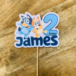 Bluey Cake topper Cake Toppers Cake Decoration Sugar Boo Cake Toppers Birthday cake custom made