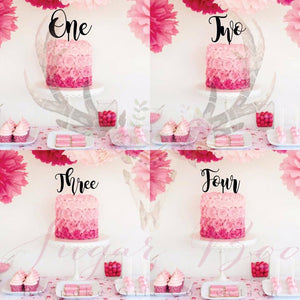 Admirable Number Cake Topper Cake Topper Cake Decoration Maggie Personalised C Funny Birthday Cards Online Inifofree Goldxyz