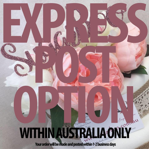 Express Post Option Within Australia ONLY Sugar Boo Cake Toppers Cake Decoration SugarBoo