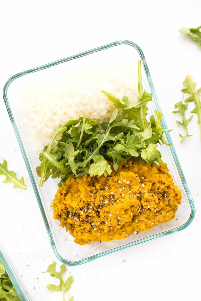 Curry Red Lentils